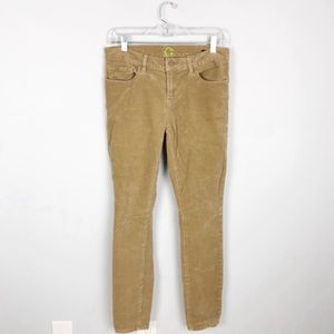 C. Wonder Tan Skinny Corduroy Pants